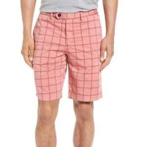 Ted Baker London Printed Golf Chino Shorts